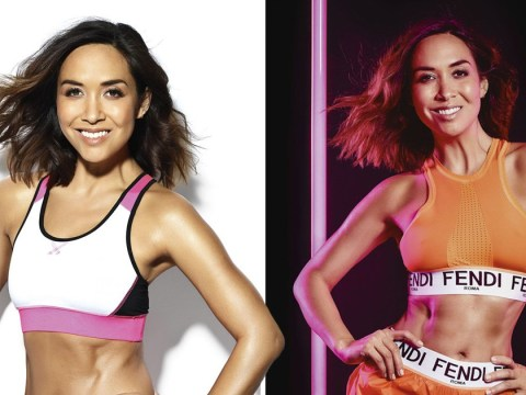 Myleene Klass proclaims she has best abs of her life days before turning 40