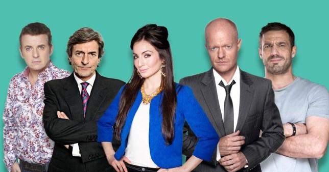 Returns for EastEnders, Coronation Street, Emmerdale and Hollyoaks