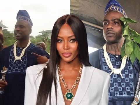 Naomi Campbell congratulates rumoured boyfriend Skepta as he is made an actual Nigerian chief