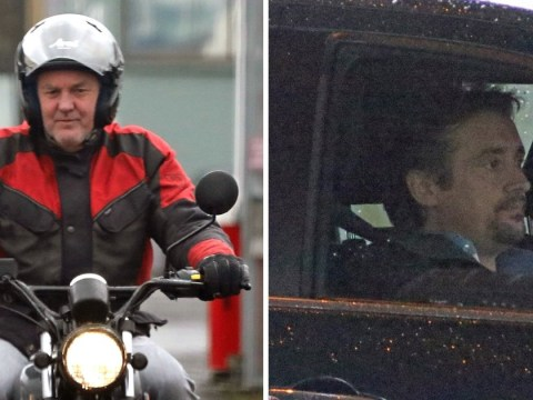 James May and Richard Hammond don't look worried about their jobs as The Grand Tour filming kicks off