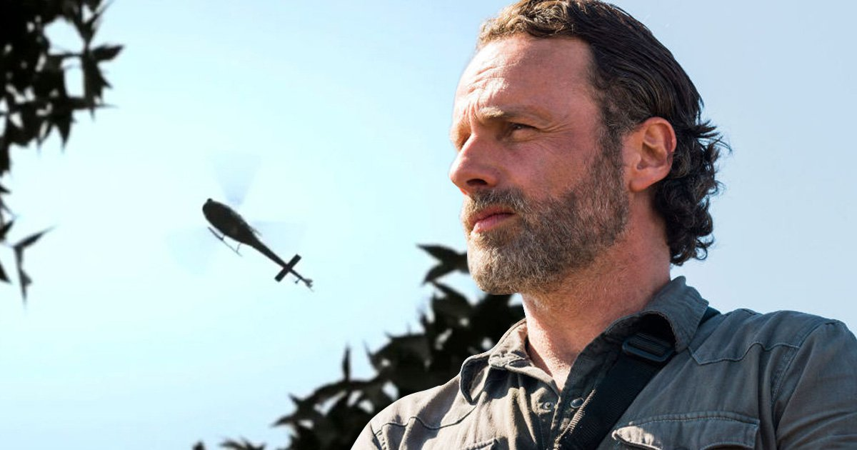 Who owns the helicopter in The Walking Dead?