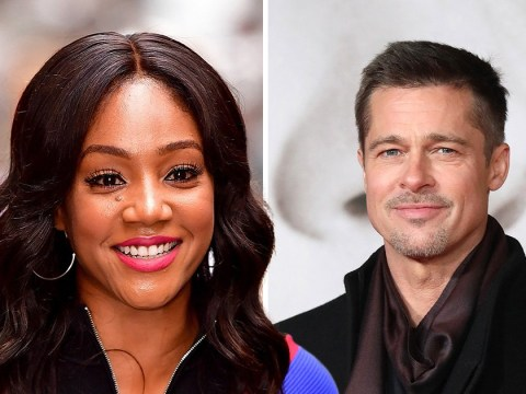 Tiffany Haddish reveals Brad Pitt asked her out in a lift and acts out their 'first date'