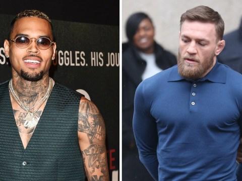 Chris Brown defends Conor McGregor after assault charge: 'We all get crazy sometimes'