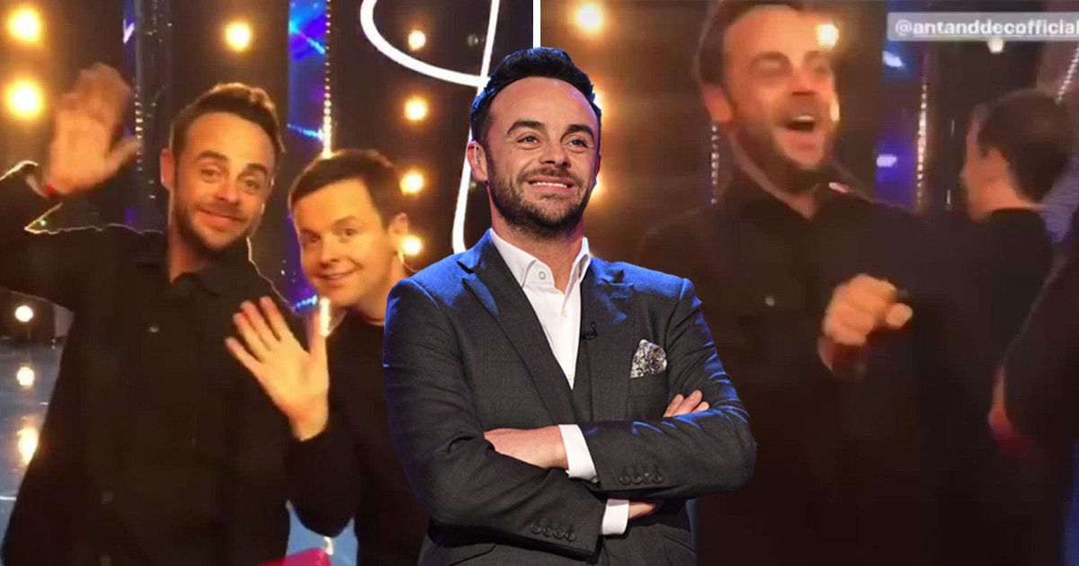 Ant McPartlin looks in high spirits at Britain's Got Talent auditions as he 'returns to screens'