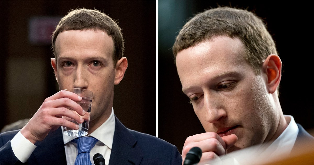 Facebook founder Mark Zuckerberg refused to say which hotel he stayed in last night