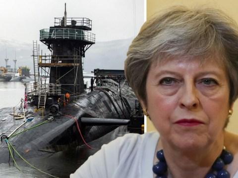 Theresa May 'orders submarines to Syria as Britain prepares to strike'