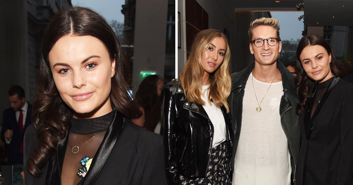 Emily Blackwell enjoys night out with Chelsea pals – but Chris Hughes is nowhere to be seen