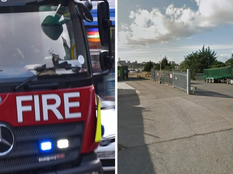 Man crushed to death at recycling plant after getting trapped between two lorries