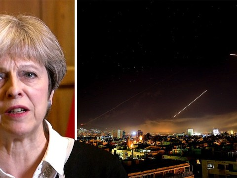 UK 'had no other choice' but to launch airstrikes on Syria, Theresa May says