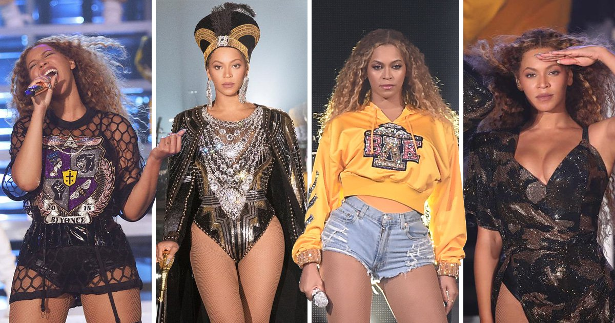 Beyonce S Coachella Set In Pictures Singer Slays Stage Year After