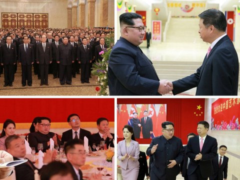 Kim Jong Un gives grand banquet for visit of Chinese art troupe
