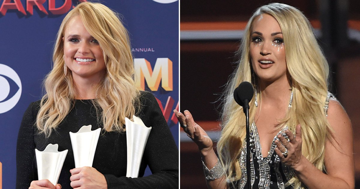 ACM Awards 2018 winners – from Carrie Underwood to Miranda Lambert
