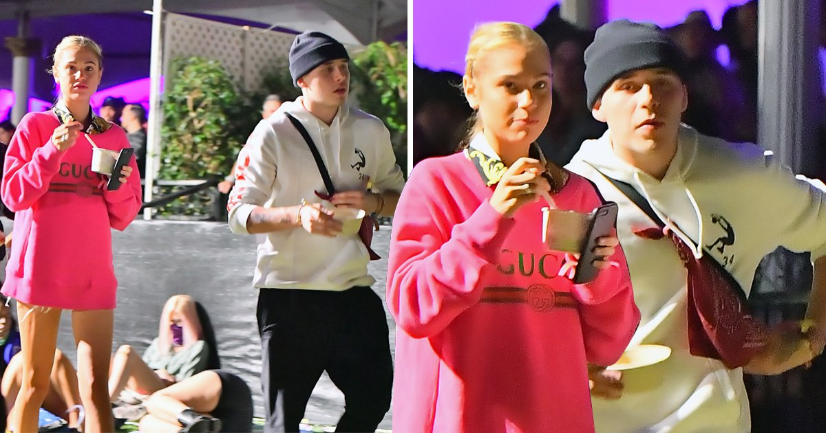 Brooklyn Beckham is loving life with Meredith Mickelson at Coachella while Lexi Wood parties nearby