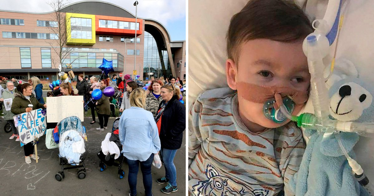 Alfie Evans protesters 'intimidating other parents and staff' at Alder Hey Children's Hospital