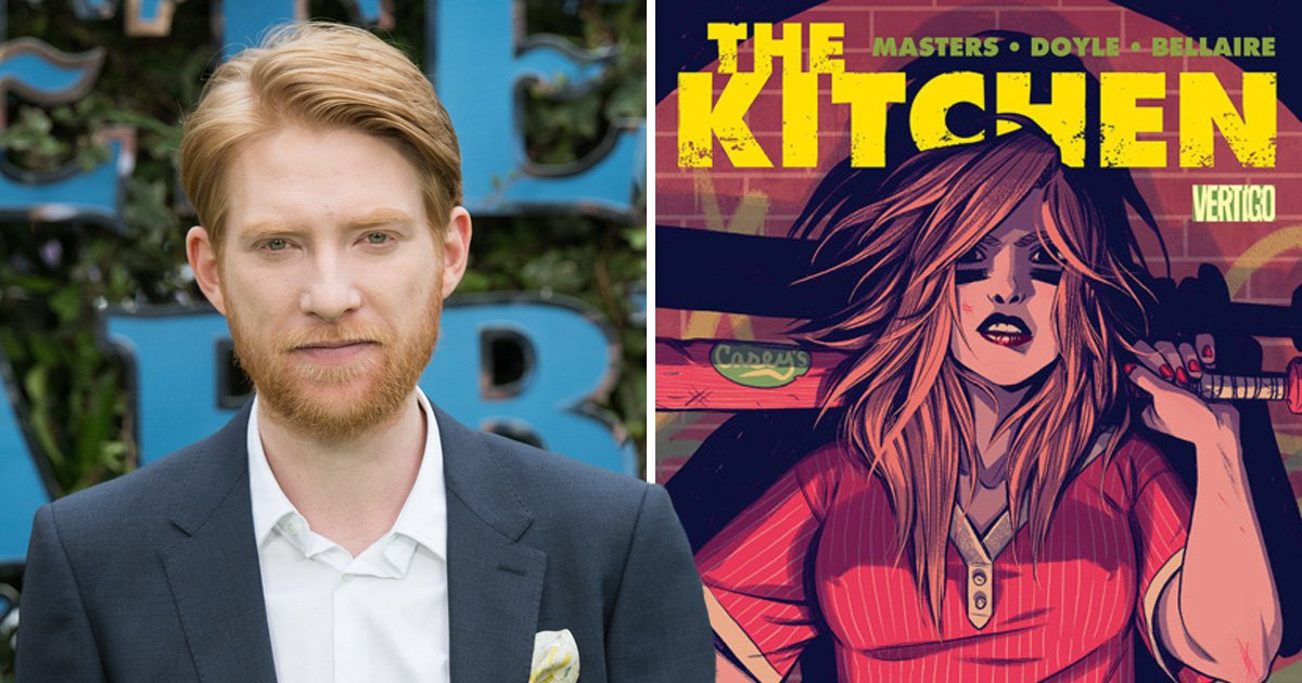 Is Domhnall Gleeson the perfect villain for comic book mob movie The Kitchen?