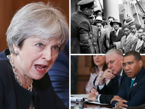 Theresa May says sorry for letting down Windrush generation