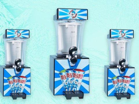 Gulp down an icy hit of nostalgia with ASOS's slush puppie machine