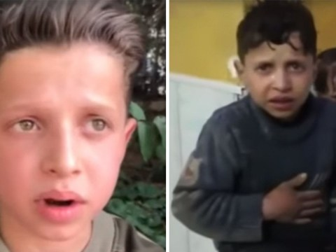 Russia says video of boy being doused in water after Syria chemical attack was 'fake news'