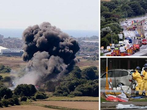 Shoreham airshow pilot denies manslaughter over tragic crash that killed 11