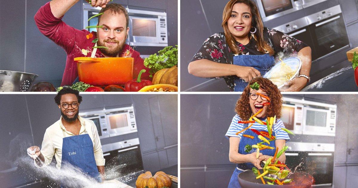 A farmer, a Maths teacher and a mum who has never used a cookbook: Meet the 10 Britain's Best Cook hopefuls