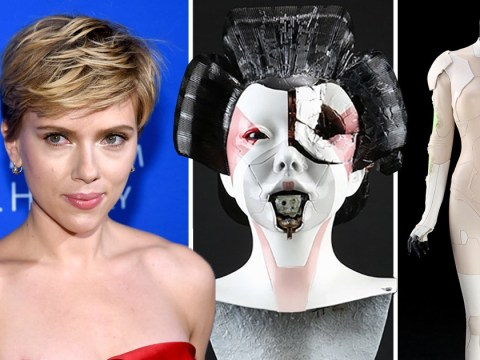 Scarlett Johansson's Ghost In The Shell costume up for grabs