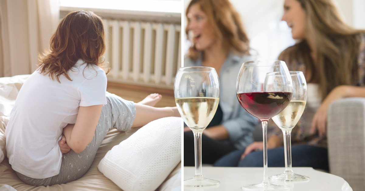 2330 Drinking is very bad for women on their period