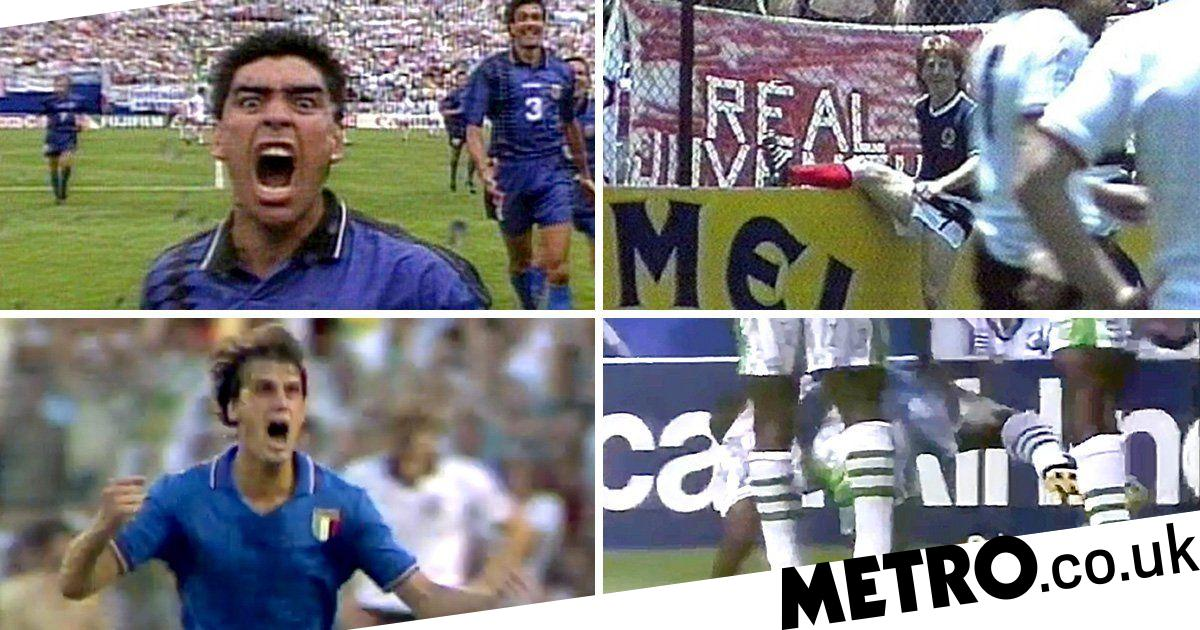 The greatest goal celebrations in the history of the World Cup