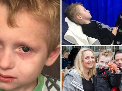 Boy, 5, becomes violently ill every single time he eats
