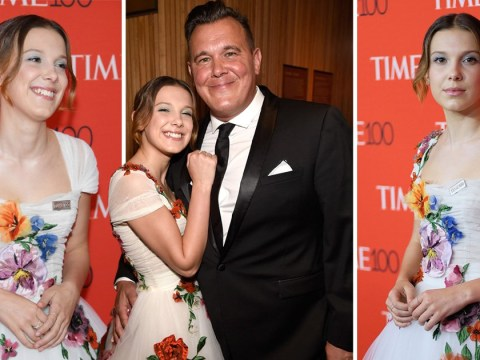 Millie Bobby Brown brings her dad as her date to  Time 100 Gala after becoming youngest person ever on list