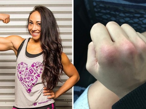 Powerlifter got sweet revenge on man who groped her