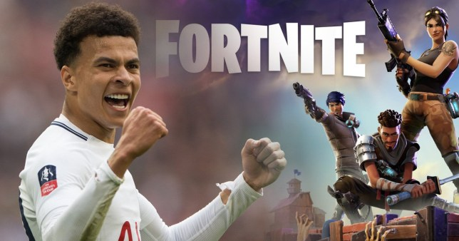 Dele Alli goes topless streaming Fortnite, realises it's against Twitch rules