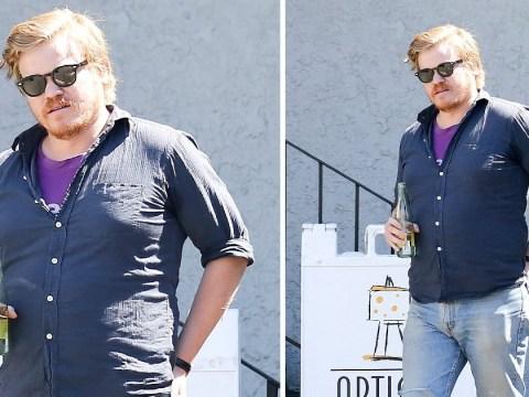 Black Mirror's Jesse Plemons keeps his head down in LA as fiancée Kirsten Dunst edges closer to due date