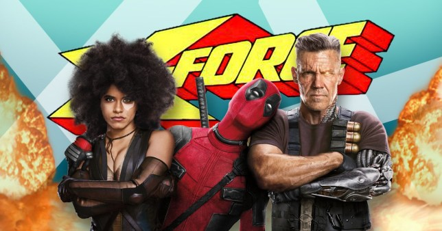 Image result for Ryan Reynolds and Zazie Beetz's and josh