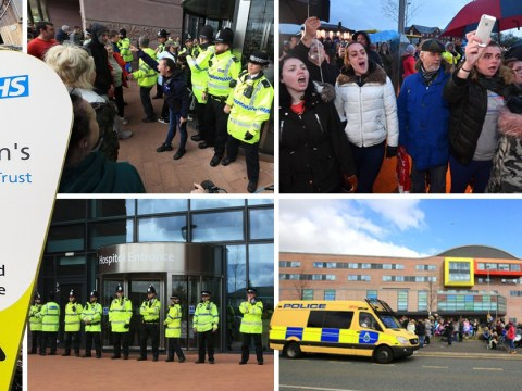 Staff at second Liverpool hospital told to hide uniforms from Alfie Evans supporters