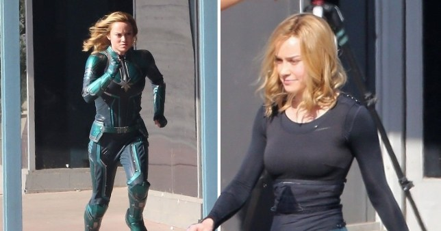 Brie Larson Back On Captain Marvel Set Filming As Infinity War