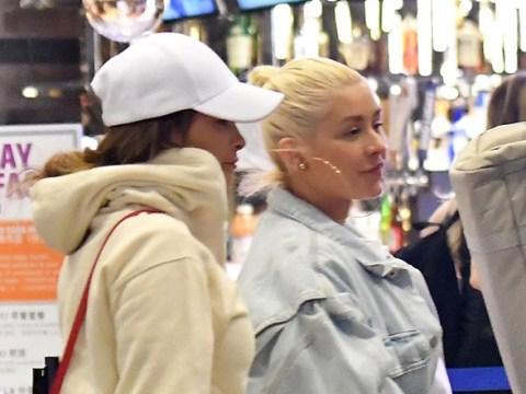 Christina Aguilera channels Kylie Jenner after belting out hits on Carpool Karaoke
