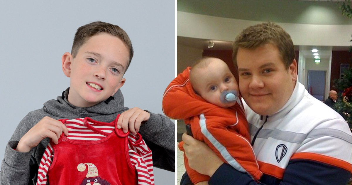 Gavin and Stacey's baby Neil has turned ten years old and James Corden is shook