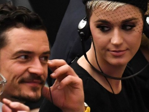 Katy Perry and Orlando Bloom prove their dates are posher than yours as they meet the Pope