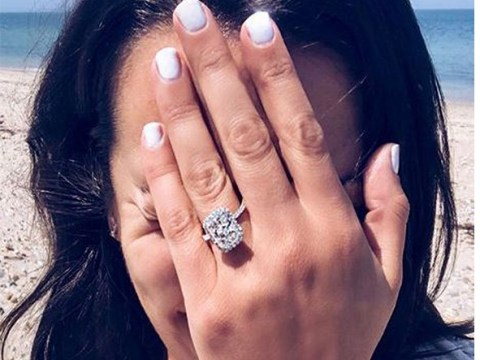 Glee's Lea Michele engaged to boyfriend Zandy Reich as she shows off huge ring in cute pic