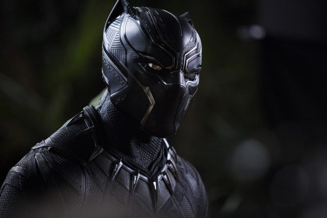 "No Merchandising. Editorial Use Only. No Book Cover Usage Mandatory Credit: Photo by Marvel/Disney/Kobal/REX/Shutterstock (9360960s) Chadwick Boseman ""Black Panther"" Film - 2018"