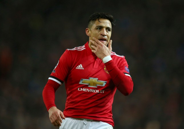 new concept 199da 3b5aa Alexis Sanchez accidentally reveals new Manchester United ...