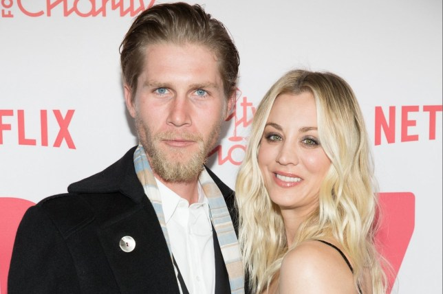 Los Angeles, CA - Celebrities arrive at the Hilarity For Charity 6th Annual Variety Show at the Hollywood Palladium in Los Angeles, California. Pictured: Karl Cook and Kaley Cuoco BACKGRID USA 24 MARCH 2018 BYLINE MUST READ: MediaPunch / BACKGRID USA: +1 310 798 9111 / usasales@backgrid.com UK: +44 208 344 2007 / uksales@backgrid.com *UK Clients - Pictures Containing Children Please Pixelate Face Prior To Publication*