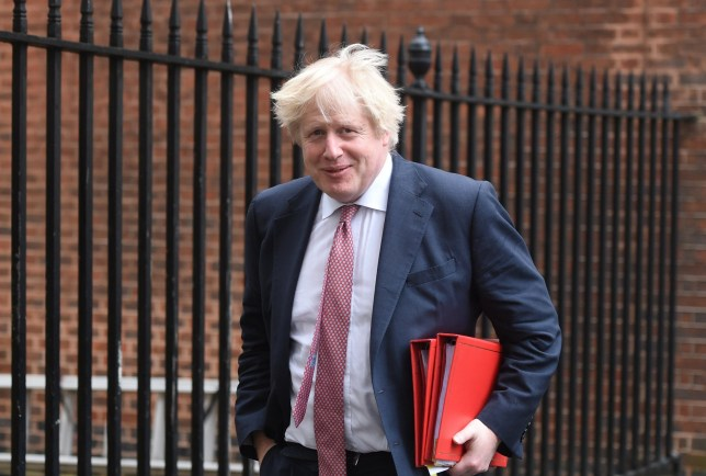 epa06631843 Britain's Foreign Secretary, Boris Johnson leaves the weekly cabinet meeting held at 10 Downing street in central London, Britain, 27 March 2018. EPA/FACUNDO ARRIZABALAGA