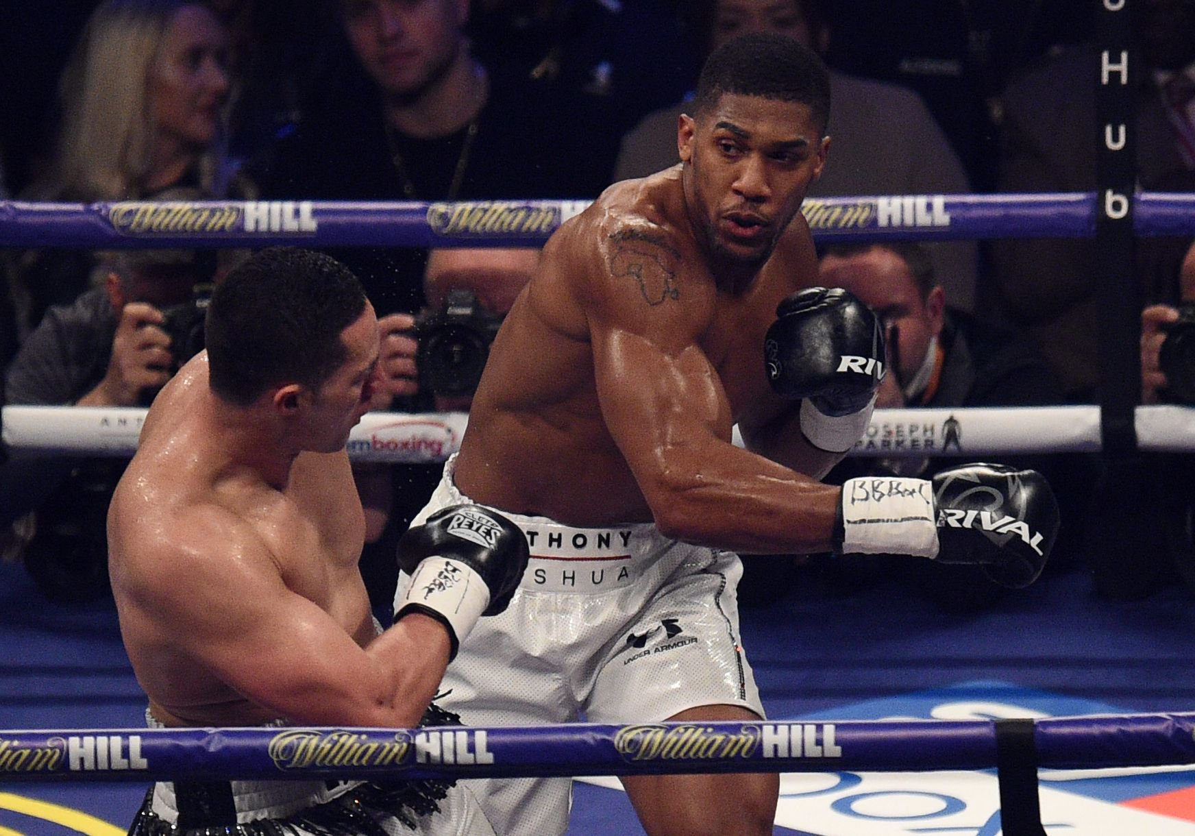 Mike Tyson unimpressed with Anthony Joshua's unification performance