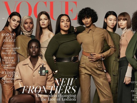 Vogue shows others how it's done by putting its first hijab-wearing model on the cover