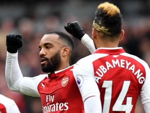 Arsenal legend Charlie Nicholas tells Arsene Wenger how to use Alexandre Lacazette and Pierre-Emerick Aubameyang together