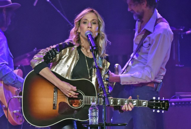 NASHVILLE, TN - NOVEMBER 02: Sheryl Crow performs during An Intimate Evening Celebrating The Songs of Sheryl Crow & Jeff Trott benefiting High Hopes Development Center, A middle Tennessee non-profit that provides specialized development programs for children with and without special needs. Concert held at Ryman Auditorium on November 2, 2017 in Nashville, Tennessee. (Photo by Rick Diamond/Getty Images)