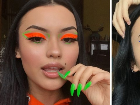 The highlighters you used in school are now peak eyeshadow inspo