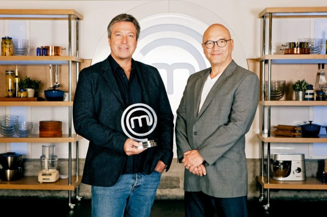 Television programme: Celebrity Masterchef - TX: n/a - Episode: n/a (No. n/a) - Picture Shows: (L-R) John Torode, Gregg Wallace - (C) Endemol Shine Group - Photographer: Production