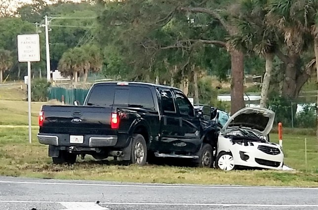A British family of four has been killed in a horror crash while on holiday in Florida. See SWNS story SWCRASH. Adam Stephenson, 30, had made a U-turn in a rented Mitsubishi saloon car as the family left the Kennedy Space Center, local media has reported. Mr Stephenson's wife Maryanne, 29, and his parents Brian Stephenson, 66, and Sheralyn T. Stephenson, 56, also died after they were hit by a Ford F-250 pickup truck. The family, from Bristol, was pronounced dead at the scene in Sisson Road on the SR-405 intersection in Titusville, Florida. It has been described as a ???violent collision??? by Titusville Police Department which says the crash is still under investigation.